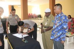 Polda dan Pemprov Papua Barat MoU Penerimaan Terpadu Anggota Polisi