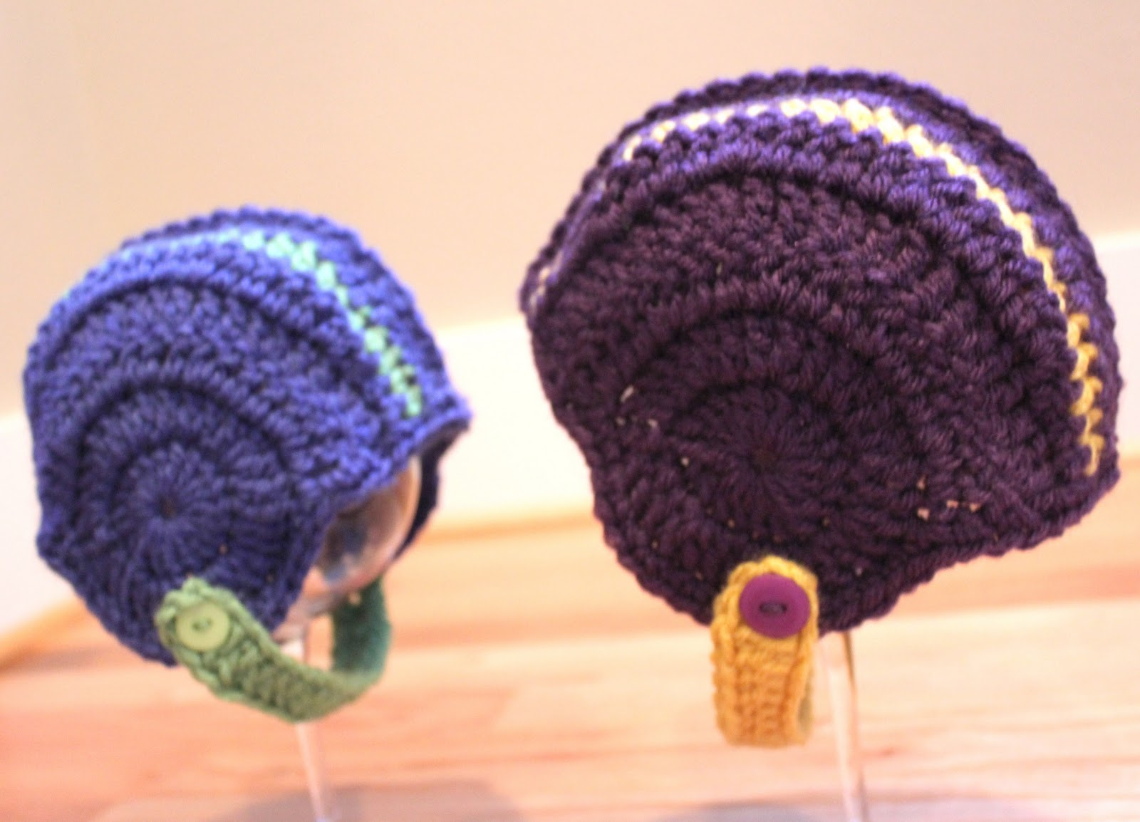 Crocheted football helmets repeat crafter me i decided to try a new and free pattern i found over at breezybot for crocheted football helmets bankloansurffo Choice Image