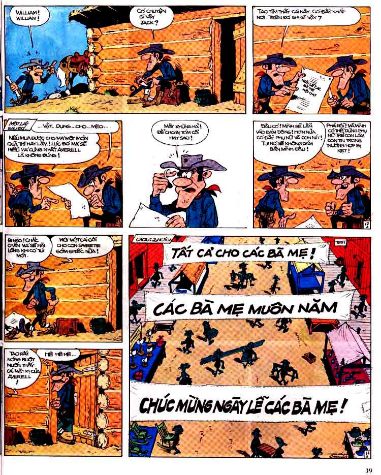 Lucky Luke tap 15 - ma dalton trang 40