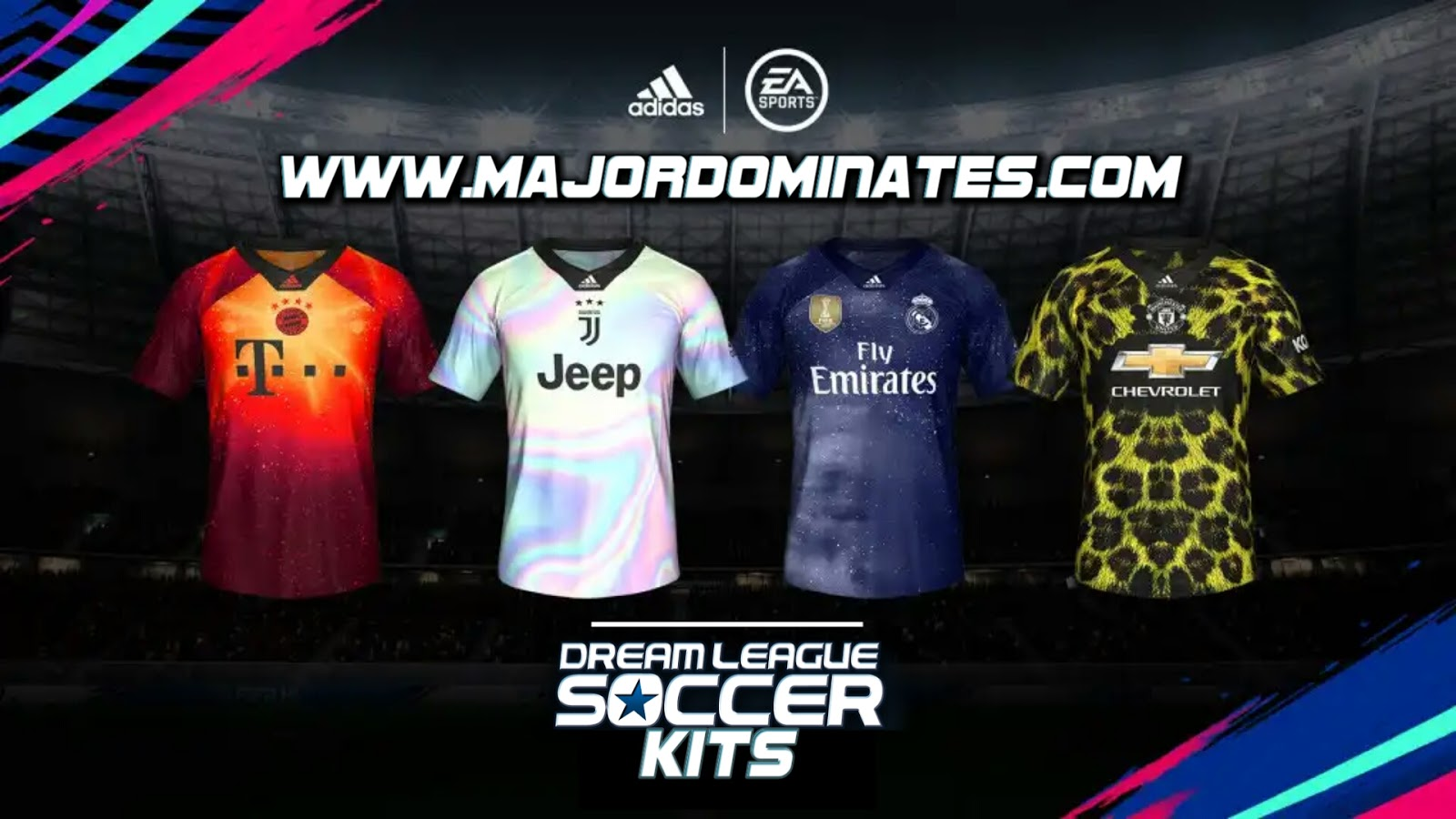 Download EA Sports x Adidas Limited-Edition Jerseys - Dream league