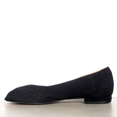 chaussure Anonymous dain noir