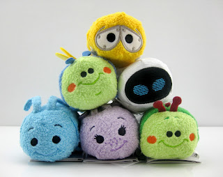 disney store best of pixar tsum tsum collection