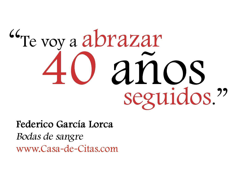Frases Garcia Lorca Bodas De Sangre Faireunizaps Diary