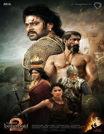 Bahubali 2 The Conclusion 2017 Hindi 450MB DVDRip 480p ESubs