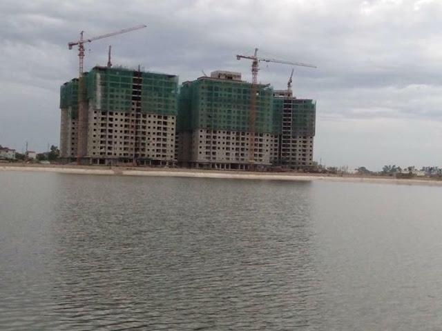 chung cư B1.3 Thanh Hà view hồ cực đẹp