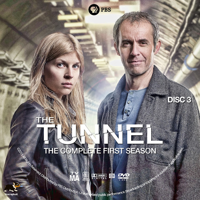 The Tunnel Season 1 Disc 3 DVD Label