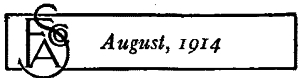 Fasco August, 1914
