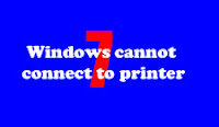 Mengatasi Windows cannot connect to printer