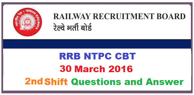 rrb-ntpc-30-march-2016-paper