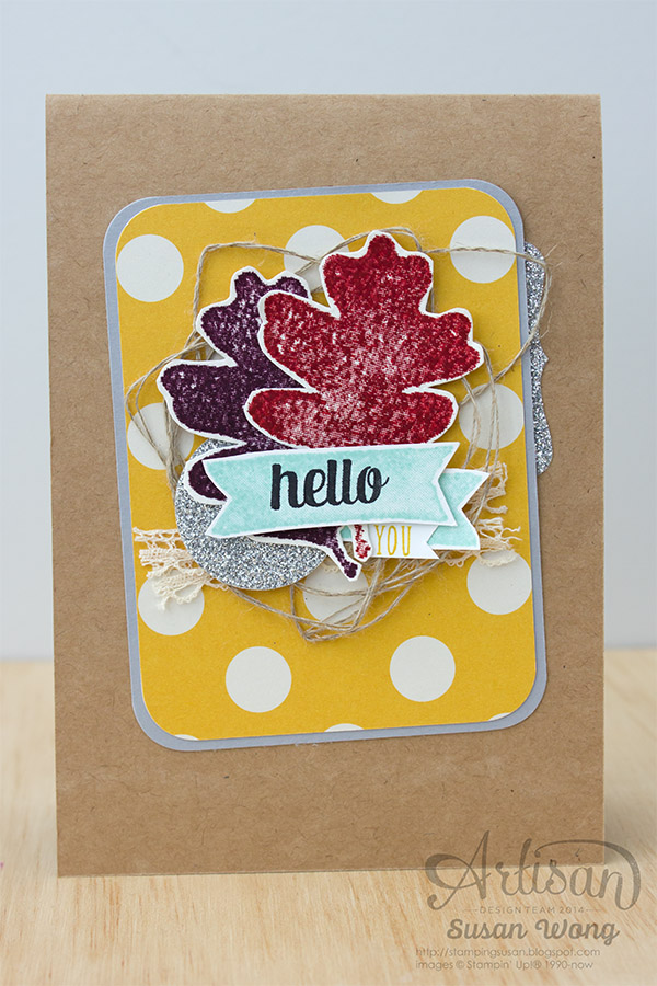 For All Things 'Hello You' card ~ Susan Wong