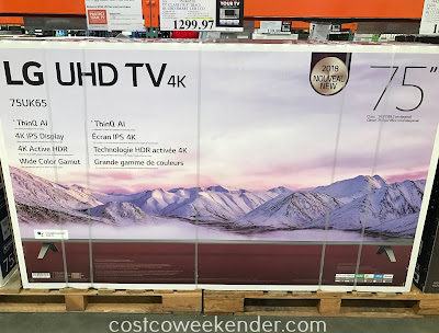 Costco 9756570 - LG 75UK6570 75in 4K UHD TV: great for any home entertainment system