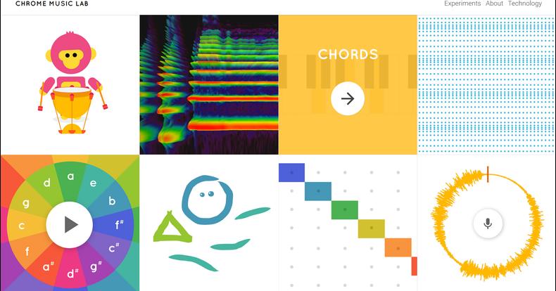 Edu-Curator: Van Google! Het Chrome Music Lab. Experimenteren met ...