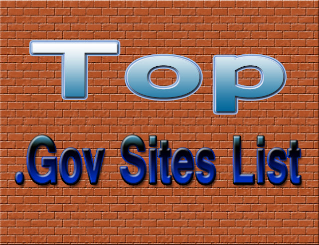 Top High PR Free .gov Sites List 2017 - Ways To Work From Home