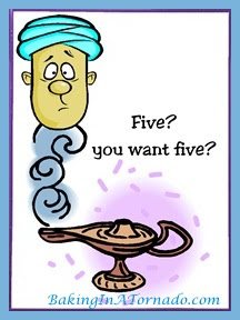 Five Wishes | www.BakingInATornado.com | #MyGraphics