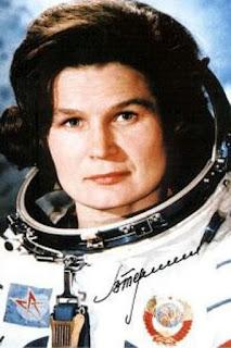 Valentina Terechkova, première femme dans l'espace
