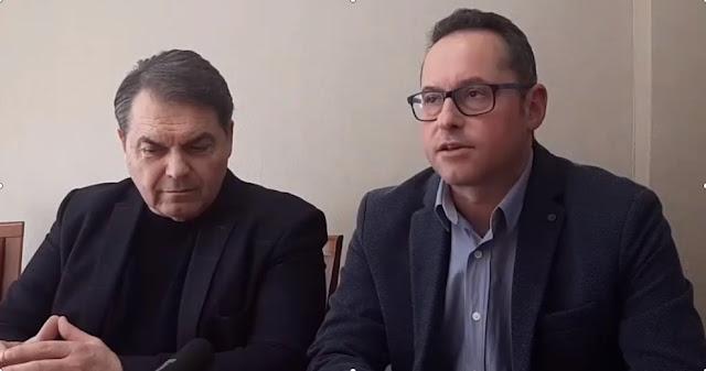 Ο προπονητής των επιτυχιών Γιώργος Καραπάνος στο στίβο της πολιτικής με τον Δημήτρη Καμπόσο (βίντεο)