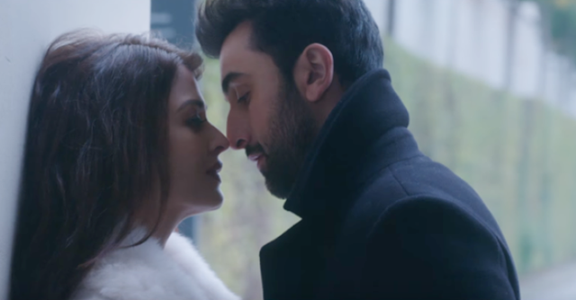 Aishwarya Rai and Ranbir Kapoor in Ae Dil Hai Mushkil