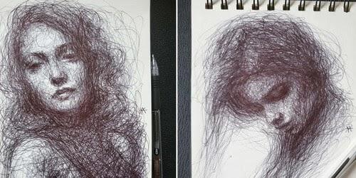 00-Scribble-Portraits-Liz-Y-Ahmet-www-designstack-co