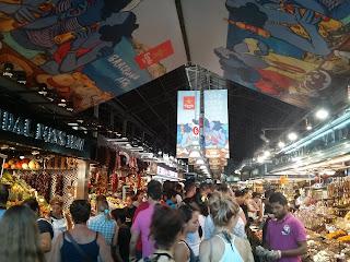 barcelona mercado la boqueria