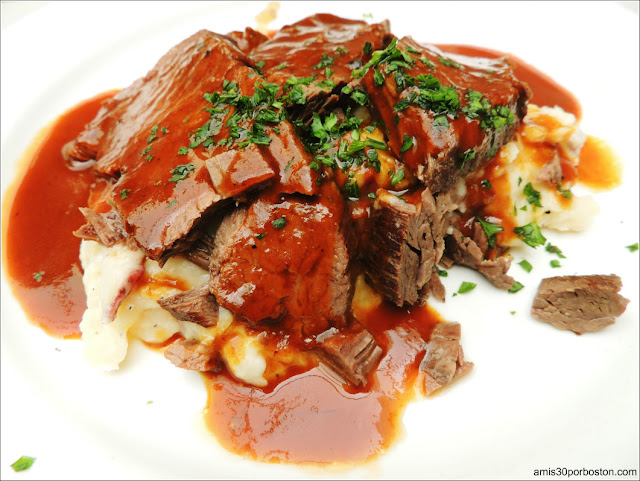 Dine Out Boston 2016: Yankee Pot Roast, Mashed New England Potatoes and Gravy