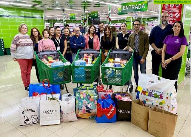 El Ayuntamiento de Los Llanos agradece a las empresas del Centro Comercial Trocadero los donativos recibidos en la campaña navideña