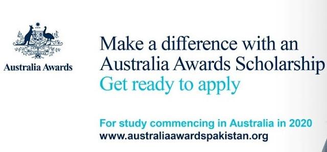 Australia Awards Scholarship 2019-20