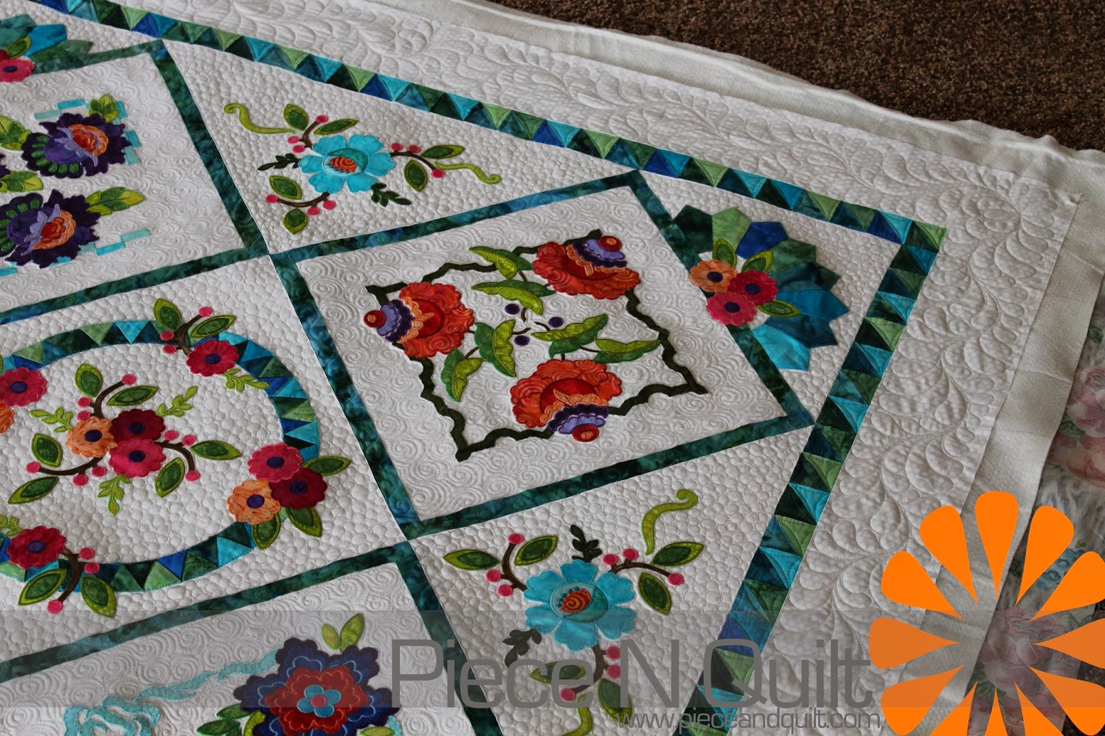 Piece N Quilt May 2014
