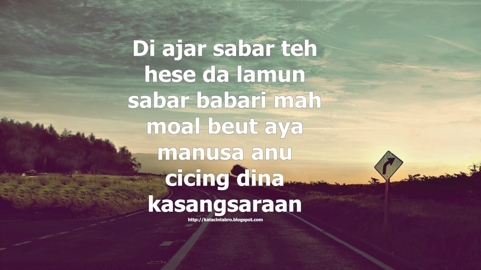 Kata Kata Mutiara Cinta Bahasa Sunda