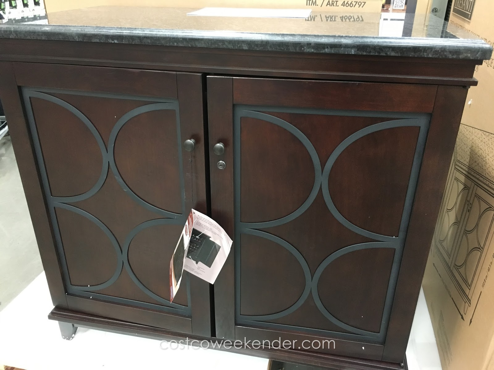 Tresanti Thermoelectric Wine Cooler & Cabinet   Costco ...