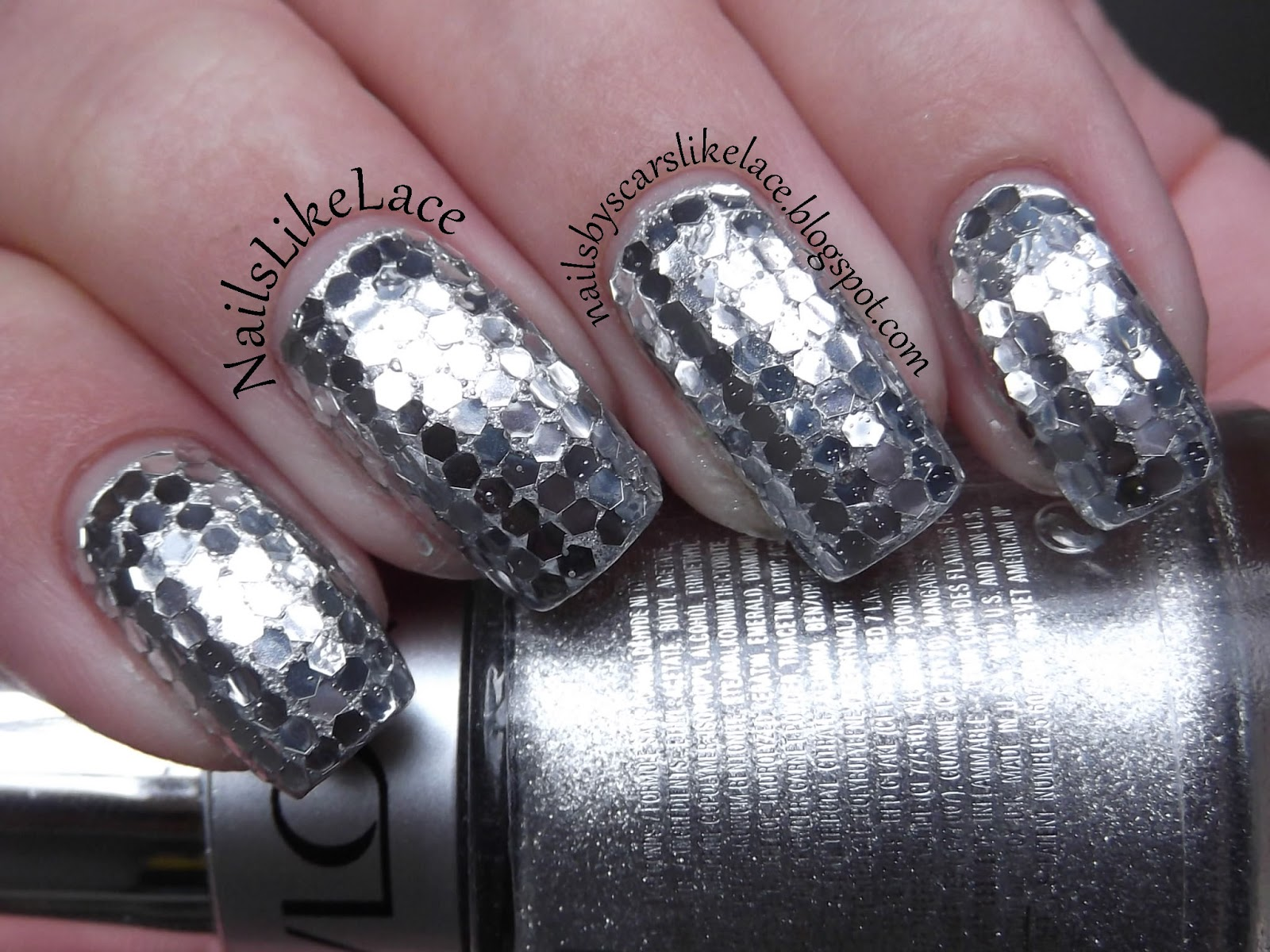 NailsLikeLace: Born Pretty Store - Loose Hex Glitter Review