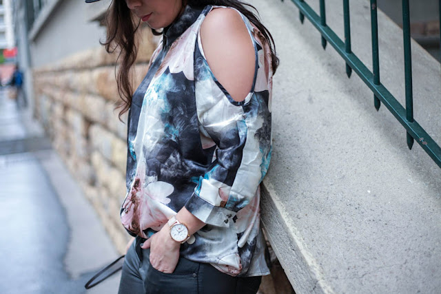 photo chemise fleuris