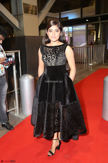 Niveda Thomas Black Sleeveless Cute Dress at 64th Jio Filmfare Awards South 2017 ~  Exclusive 133.JPG
