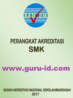 gambar Perangkat Akreditasi SMK Tahun 2017