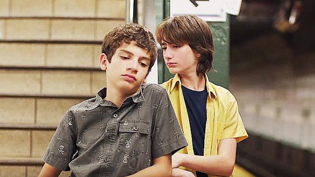 Michael Barbieri (Tony Calvelli) et Theo Taplitz (Jake Jardine) dans Brooklyn Village, de Ira Sachs (2016)
