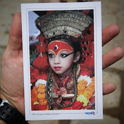 La Kumari Real de Katmandú