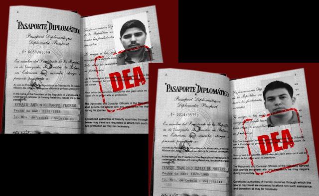 pasaportes narcosobrinos