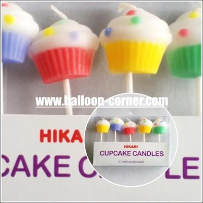 Lilin Ulang Tahun / Ultah Bentuk Cupcake