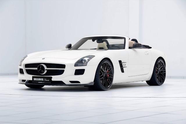 Brabus Mercedes-Benz SLS Roadster - #Brabus #Mercedes #SLS #Roadster #tuning