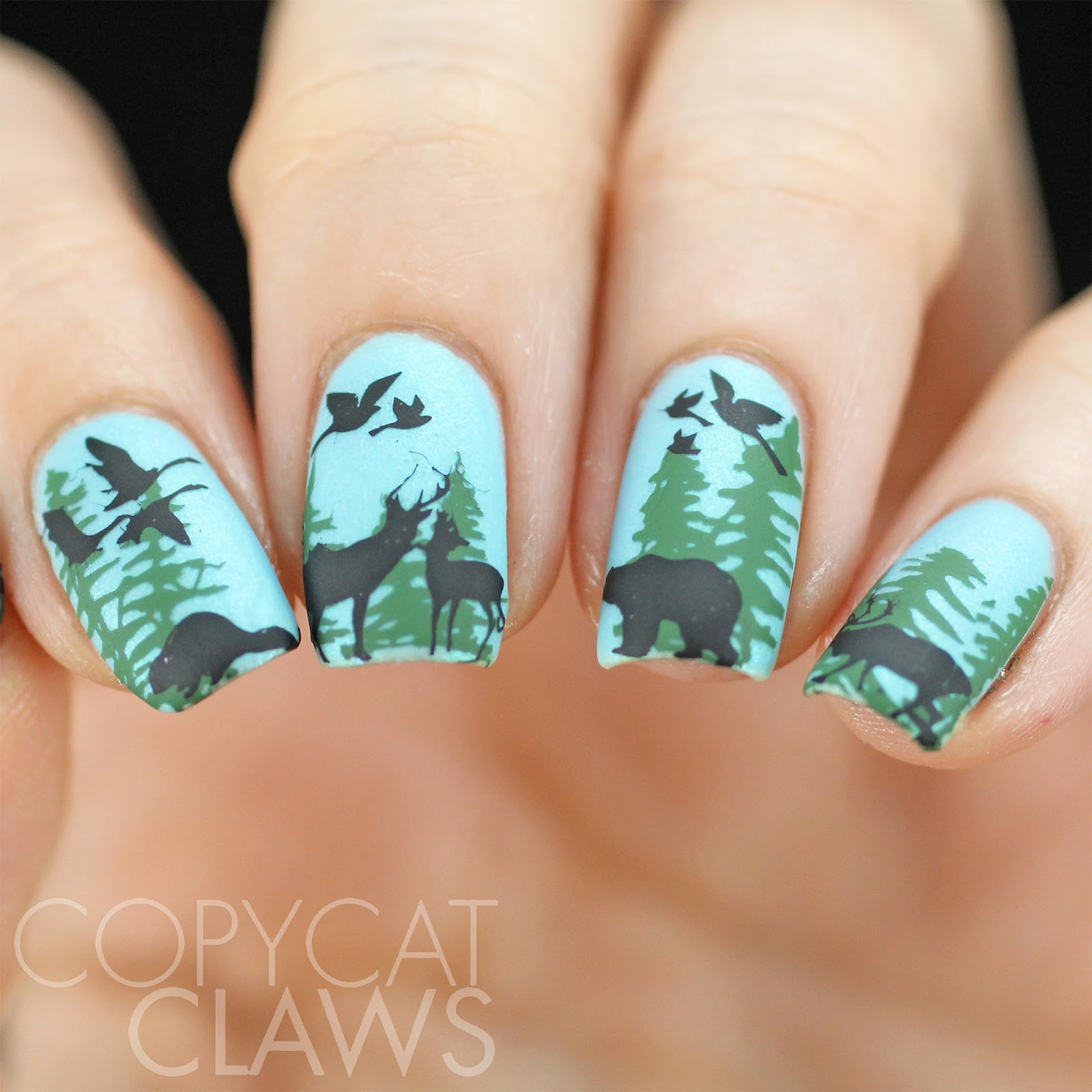 Copycat claws 40 great nail art ideas animals ive put on my nails either at the lake or on the way to the lake usually right in front of my caryikes keep reading to see all the details prinsesfo Images