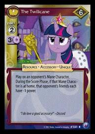 My Little Pony The Twilicane Canterlot Nights CCG Card