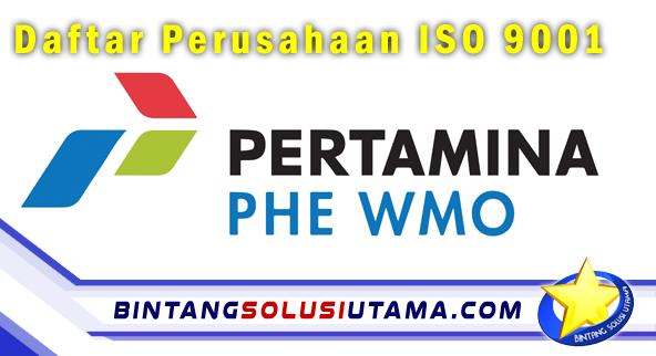 Daftar Perusahaan ISO 9001