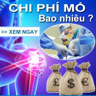 Phẫu thuật dây chằng chéo trước bao nhiêu tiền