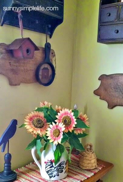 prim sunflowers