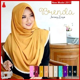 RYB092B Kerudung Jilbab Cantik Hijab Murah Instant BMG Online Shop