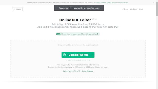 Editez le texte de vos fichiers pdf gratuitement avec Sejda PDF Editor, A Unix Mind In A Windows World