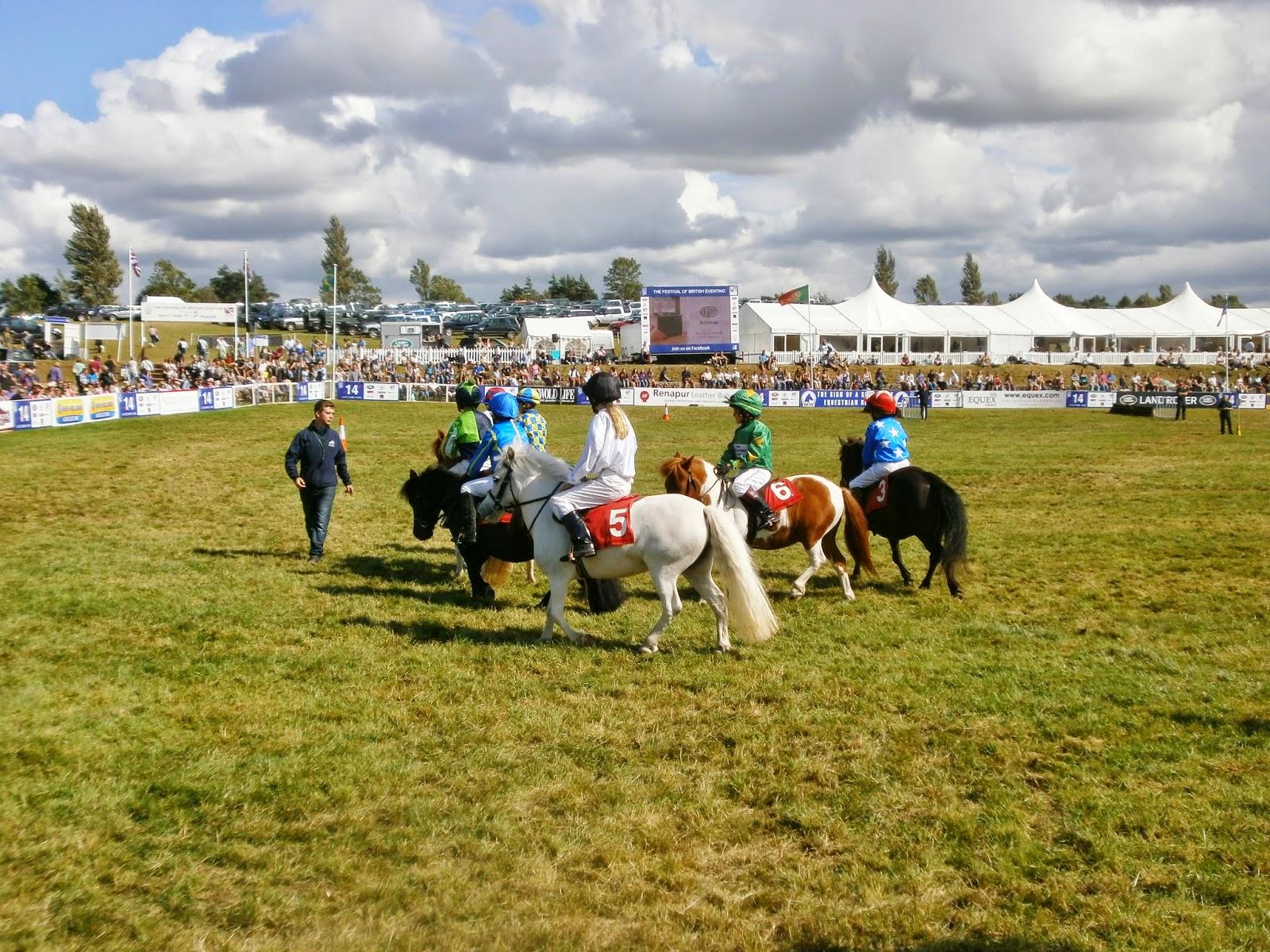 Shetland Pony Racing at Gatcombe Park
