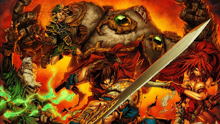 Battle Chasers Nightwar Android Wallpaper