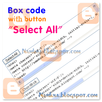 "Box code with ""Select All"""