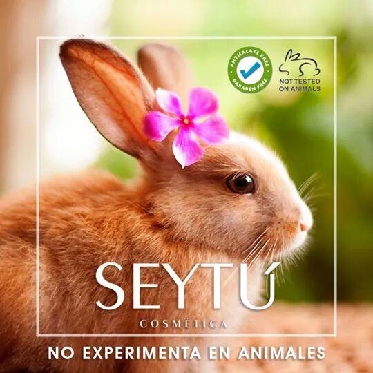 SEYTÚ no testado en animales