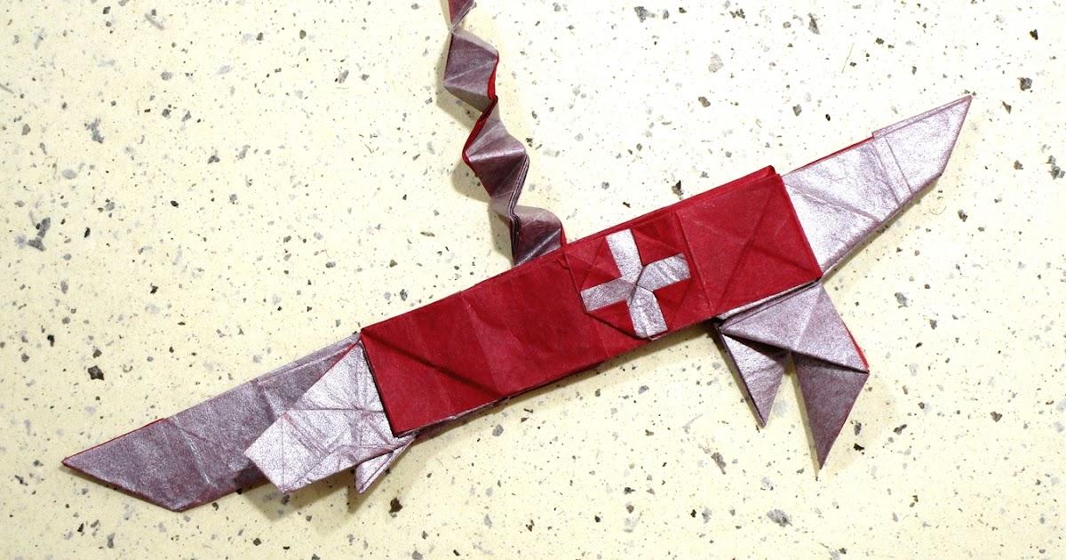 Mariano Mi Mundo El Origami Swiss Army Knife Video Tutorial